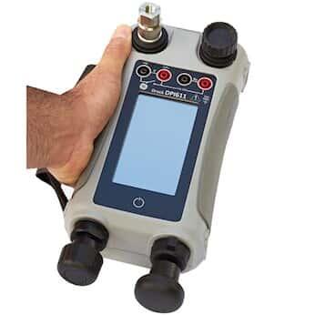 GE Druck DPI611-10G Handheld Pressure Calibrator, -14.5 to 100 psig