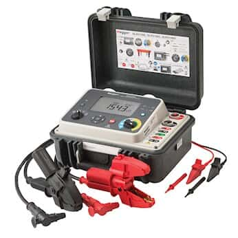 Megger DLRO100 Low Resistance Digital Ohmmeter w/ Remote Control, battery & 115V