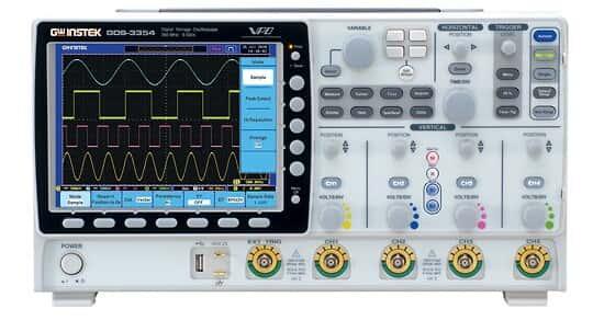 GW Instek GDS-3354 Oscilloscope, 4 Channel, 350 MHz