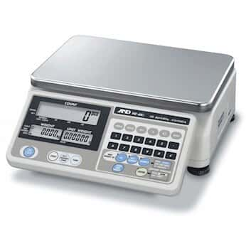 A&D Weighing HC-30KI Counting Scale, 30kg/60lb, 115 V/60 Hz