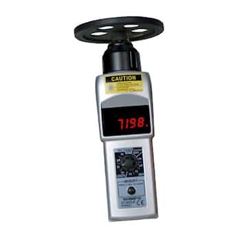 Shimpo DT-207LR-S12 Contact/Noncontact LED Tachometer with 12