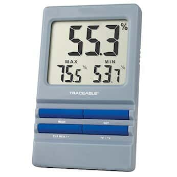 Traceable Thermohygrometer with Alarm and Calibration; Ambient Sensor