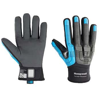 Honeywell Rig Dog™ Waterproof Impact ANSI A6 Cut-Resistant Glove, Slip-On Cuff, 9/L