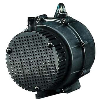 Economical Submersible Pump, Low-Flow Centrifugal, 5.4 GPM, 230 VAC, 12' cord