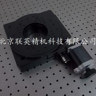 北京聯英精機精密型電動旋轉臺位移臺位移調整滑臺角度弧度臺ZX110-200