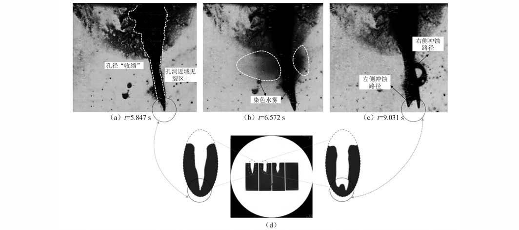 图4  第II阶段非压缩区破碎孔洞演进及裂纹扩展.png