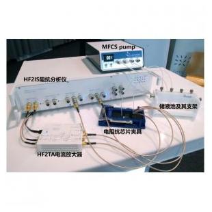微流控动态电阻抗测试系统