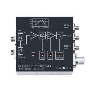 平衡式光接收器/光电探测器系列HBPR
