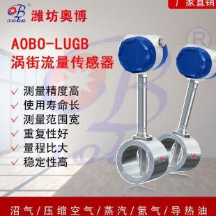 ABDT-LUGB大口径蒸汽测量气体管段式流量计