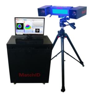 MatchID Stero三维非接触全场位移应变测量系统