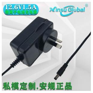 IEC60601-1标准12.6V1.5A自动除颤器充电器12.6V1.5A锂电池充电器