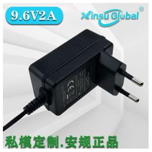 ZGCCC认证日本PSE认证9.6V2A转换头电源适配器9.6V电源适配器