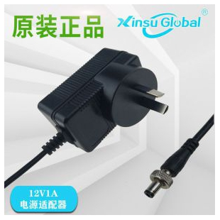 中国CCC认证日本PSE认让12V1A插墙式电源适配器12V阵列式摄像机电源适配器
