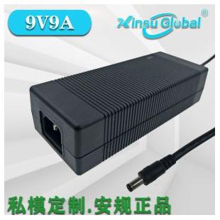 中国3C认证9V9A电源日本PSE认证9V9A桌面式电源适配器GB4943