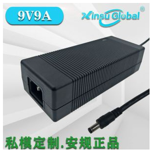 ZG3C认证9V9A电源日本PSE认证9V9A桌面式电源适配器GB4943