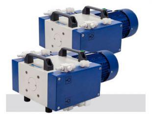 大功率防腐蚀隔膜真空泵 / 变频隔膜真空泵