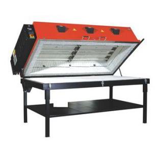 带移动桌的玻璃熔炉 GFS