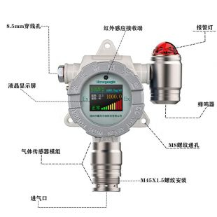 霍尼艾格硫化氢气体检测仪