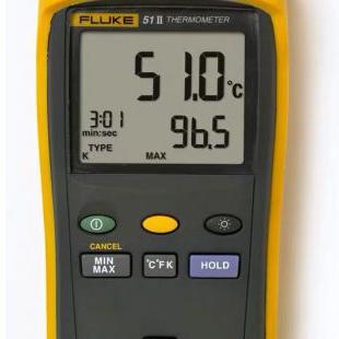 FLUKE福禄克测温仪50-II系列51-2 温度计