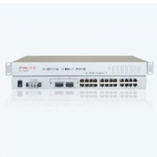 ME-1624RE-B 24FE+2F機架式百兆非網管工業以太網交換機