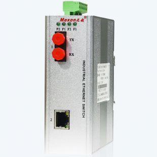 MIE-2102 1G+1GE卡軌式全千兆非網管工業以太網交換機