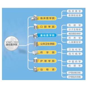 泰盟VMC-100醫學虛擬仿真實驗系統