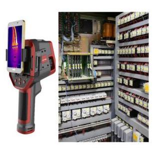 光伏电力系统红外热成像测温仪