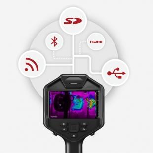 高精度手持便携测温仪工业红外热像仪
