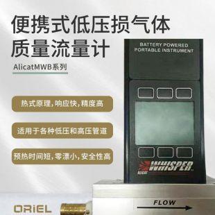 AlicatMWB系列便携式低压损气体质量流量计