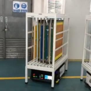新能源行业移动机器人
