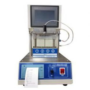 HSY-8143D紫胶产品全自动软化点试验器