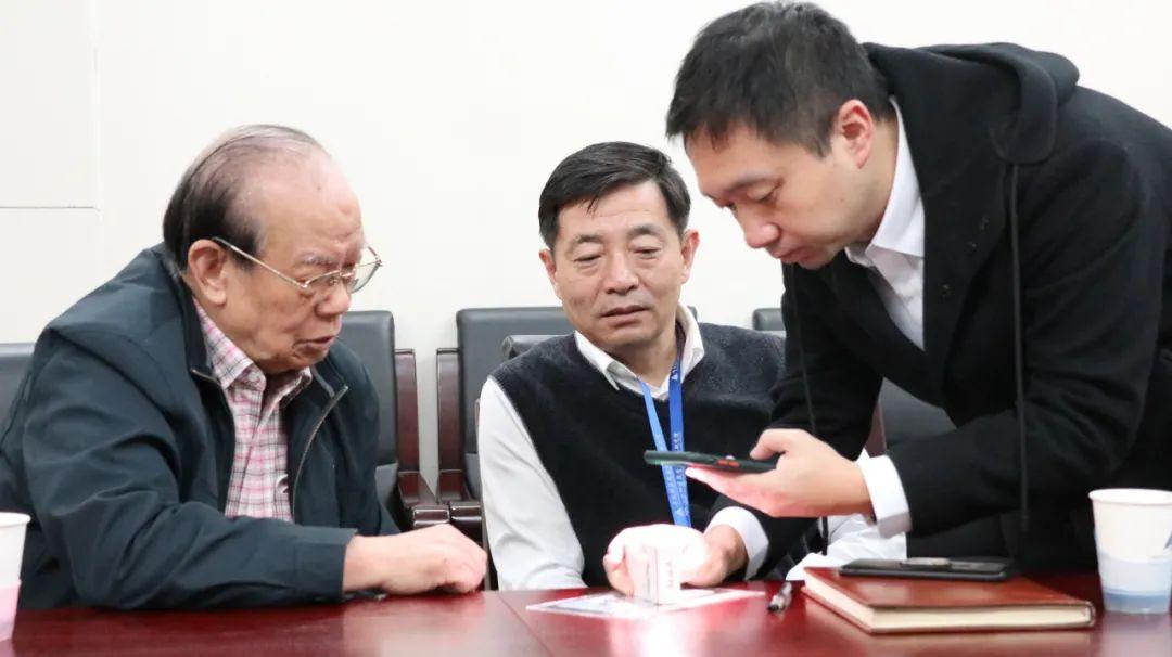 童庆禧院士江苏快三计划软件百分百中奖和中科谱光董事长张立福教授