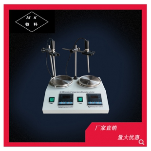 敏科  数显磁力恒温加热搅拌器HJ-2/4/6A