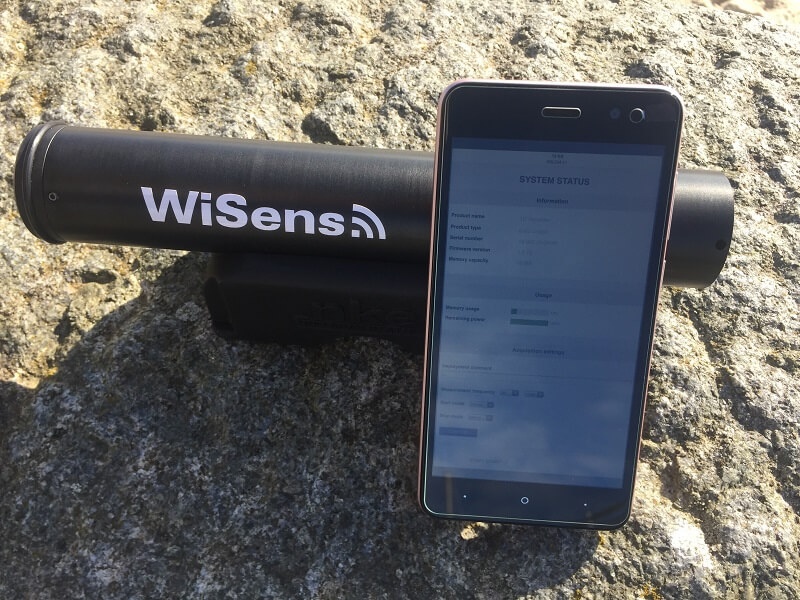 WiSens TD 溫度和水深測量自容式儀器