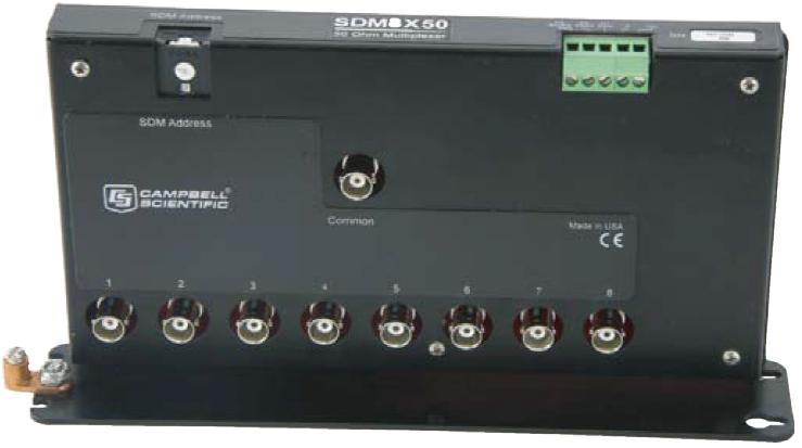 SDM8X50 TDR系统8通道,50欧姆,同轴多路器
