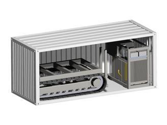 COUGAR-200 集装箱式履带CPT系统