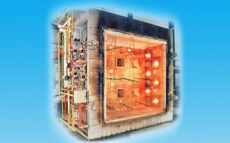大尺寸垂直耐火性測試爐