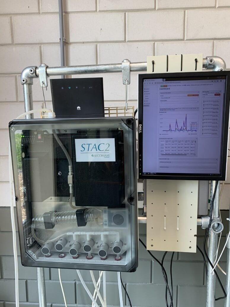 UV-VIS全光譜在線水質預警系統