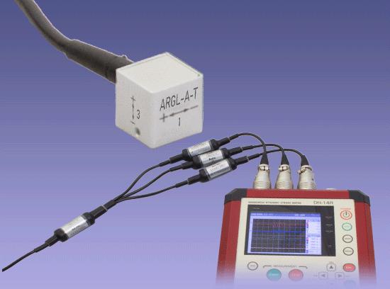 ARGL-A-T 小型·高响应·低量程3轴加速度传感器 100m/s2