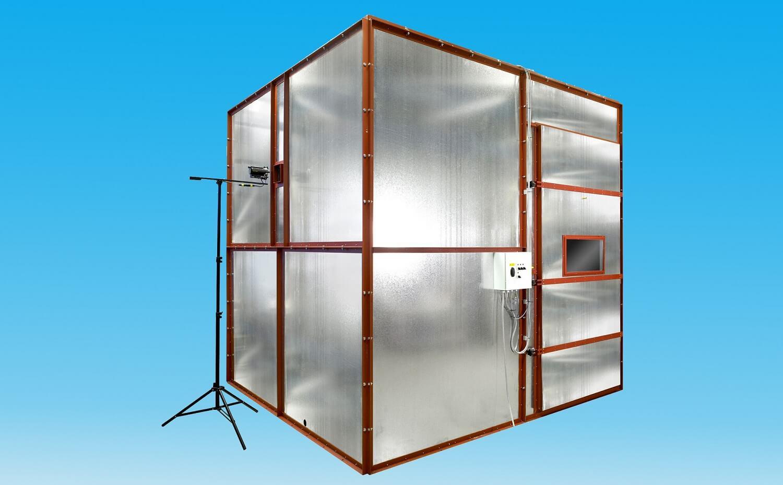 3米立方体烟气检测仪