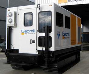 美洲豹系列履帶式靜力觸探(CPT)工作艙