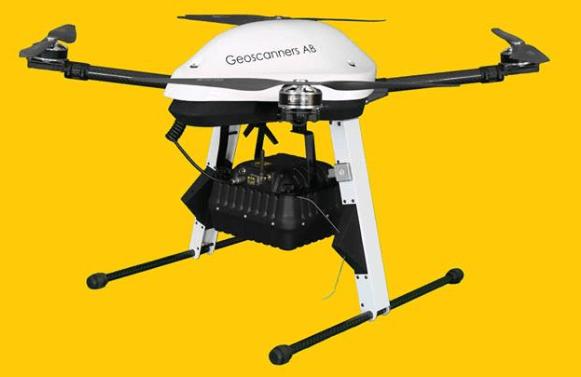 SPG-1700中高頻無人機探地雷達