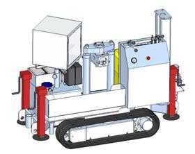 LYNX-125 轻型履带式贯入系统