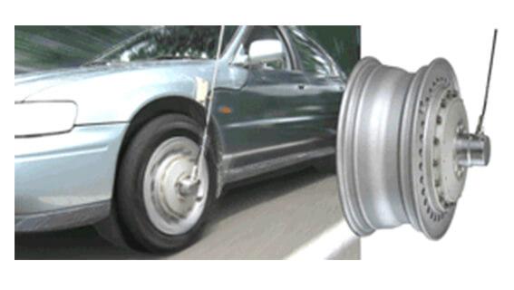 滑環型車輪扭矩測量車輪扭矩傳感器LTW-NA 2.5kN?m