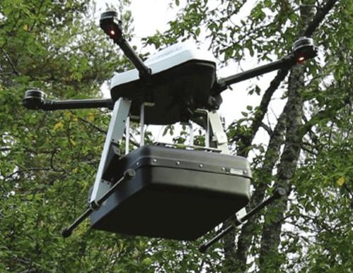 SPG-1800中頻無人機探地雷達