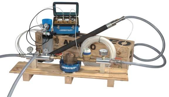 Lugeotest 钻孔压水试验设备