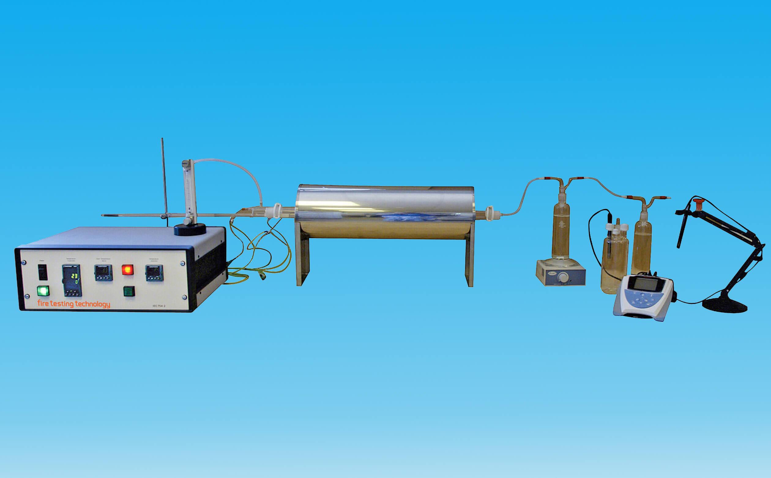 腐蝕性測試儀IEC 60754第一和第二部分