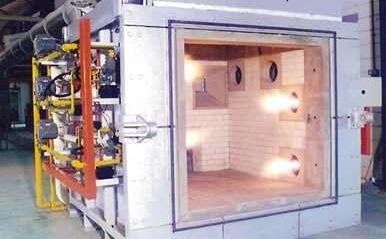 耐火性特征指示式試驗爐
