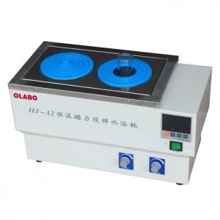 欧莱博恒温磁力搅拌水浴锅 HJ-A2