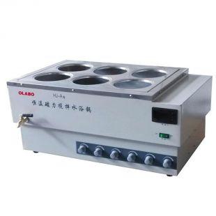 欧莱博磁力搅拌恒温水浴锅 HJ-A6